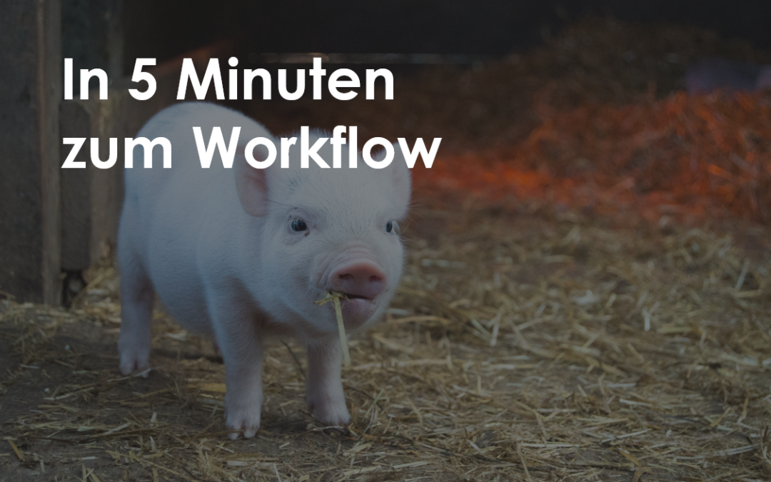 Der 5-Minuten-Deal mit dem Schweinehund